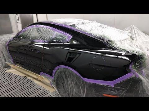 2016 GT Mustang Spray Painting