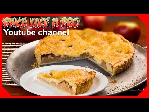 Easy Apple Pie Recipe AND NO Fail Butter Pie Dough Recipe Part 1
