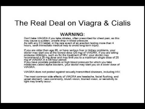 Does Viagra and Cialis Really Work?