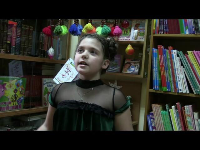 Изображение предпросмотра прочтения – СофияПанина читает произведение «Болтунья» А.Л.Барто