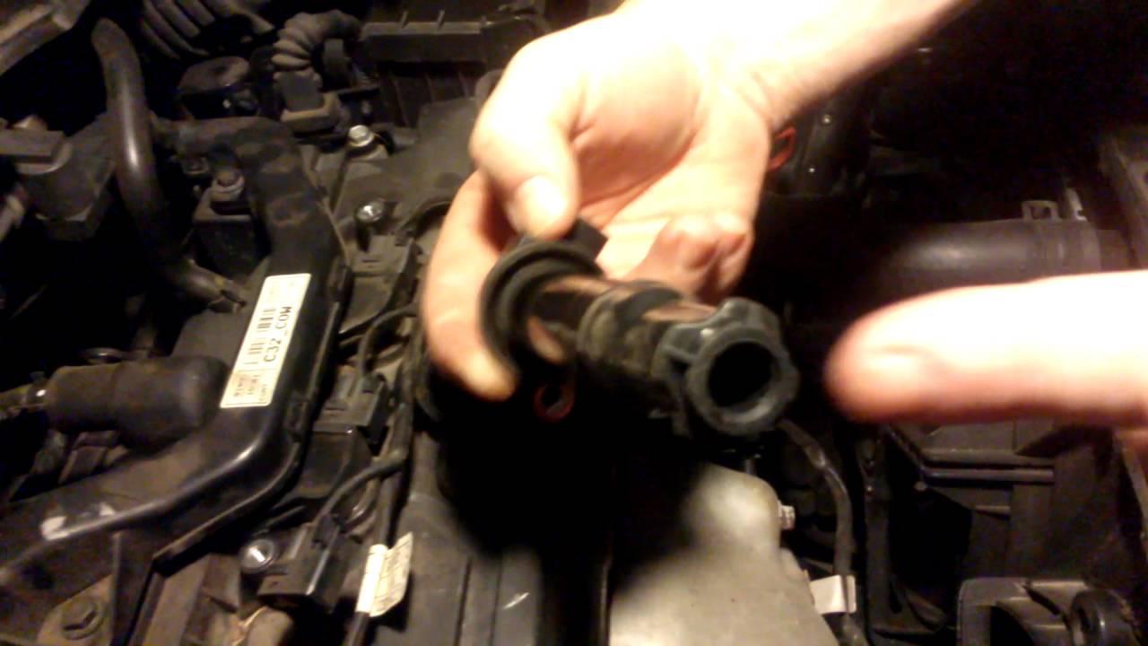 2009 kia rio ignition coil replacement youtube 2010 kia rio engine cylinder diagram [ 1280 x 720 Pixel ]