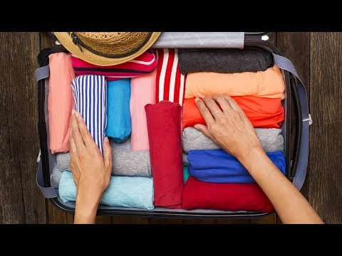 How To Correctly Pack A Suitcase