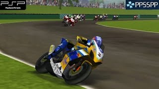 SBK: Superbike World Championship - PSP Gameplay 1080p (PPSSPP)