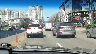인천 동아자동차운전전문학원 도로주행 A코스