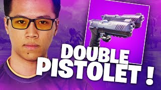 THE NEW DOUBLE PISTOLET ON FORTNITE: THE MORE GAME'S CHEATED !!! - GAMEPLAY KINSTAAR