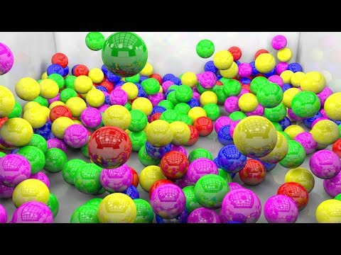 Learn Color Ball And Make Play Doh With surprise Eggs