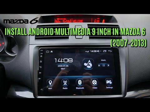 Instal Android Multimedia In Mazda 6 2007, 2008, 2009, 2010, 2011, 2012, 2013