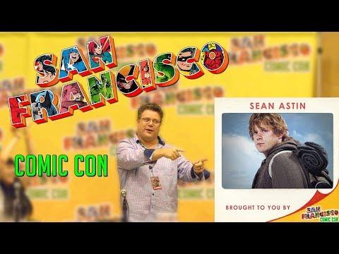 Sean Astin at San Francisco Comic Con 2017