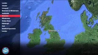 9 Days England &amp Scotland UK EUA3003