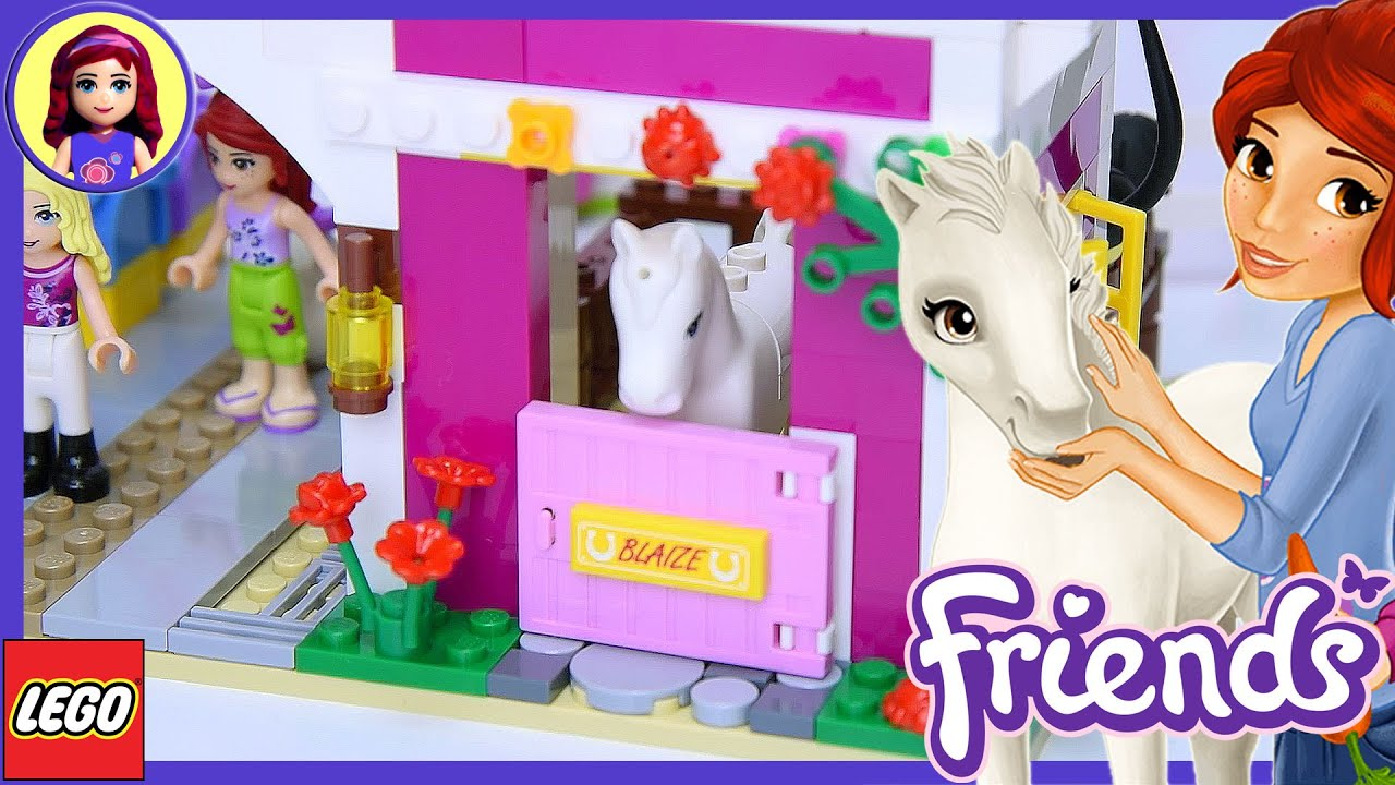 Lego Friends Sunshine Ranch Part 1 Build Review Silly Play Kids