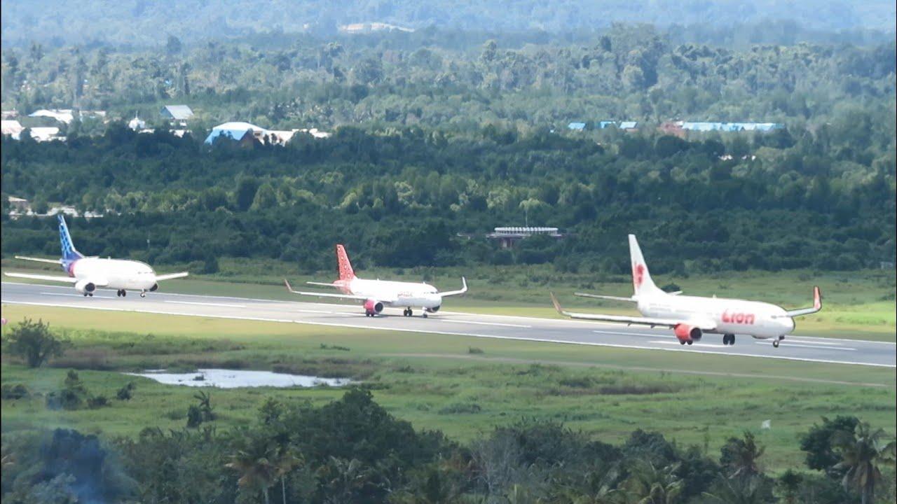 Take Off Pesawat Garuda Indonesia, Batik Air, Sriwijaya ...