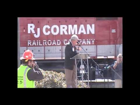 RJ Corman Railroad Arrives in Horry County