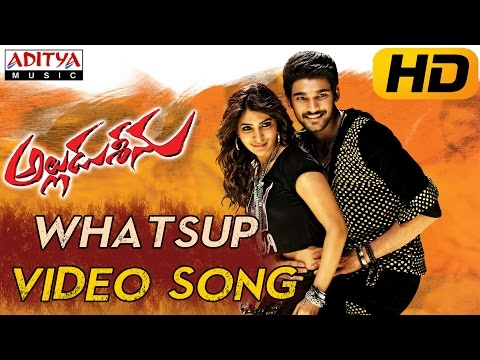 Whatsup Antu Full Video Song || Alludu Seenu Video Songs ||Sai Srinivas, Samantha
