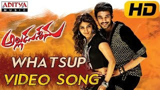 Whatsup Antu Full Video Song || Alludu Seenu Video Songs ||  Sai Srinivas, Samantha