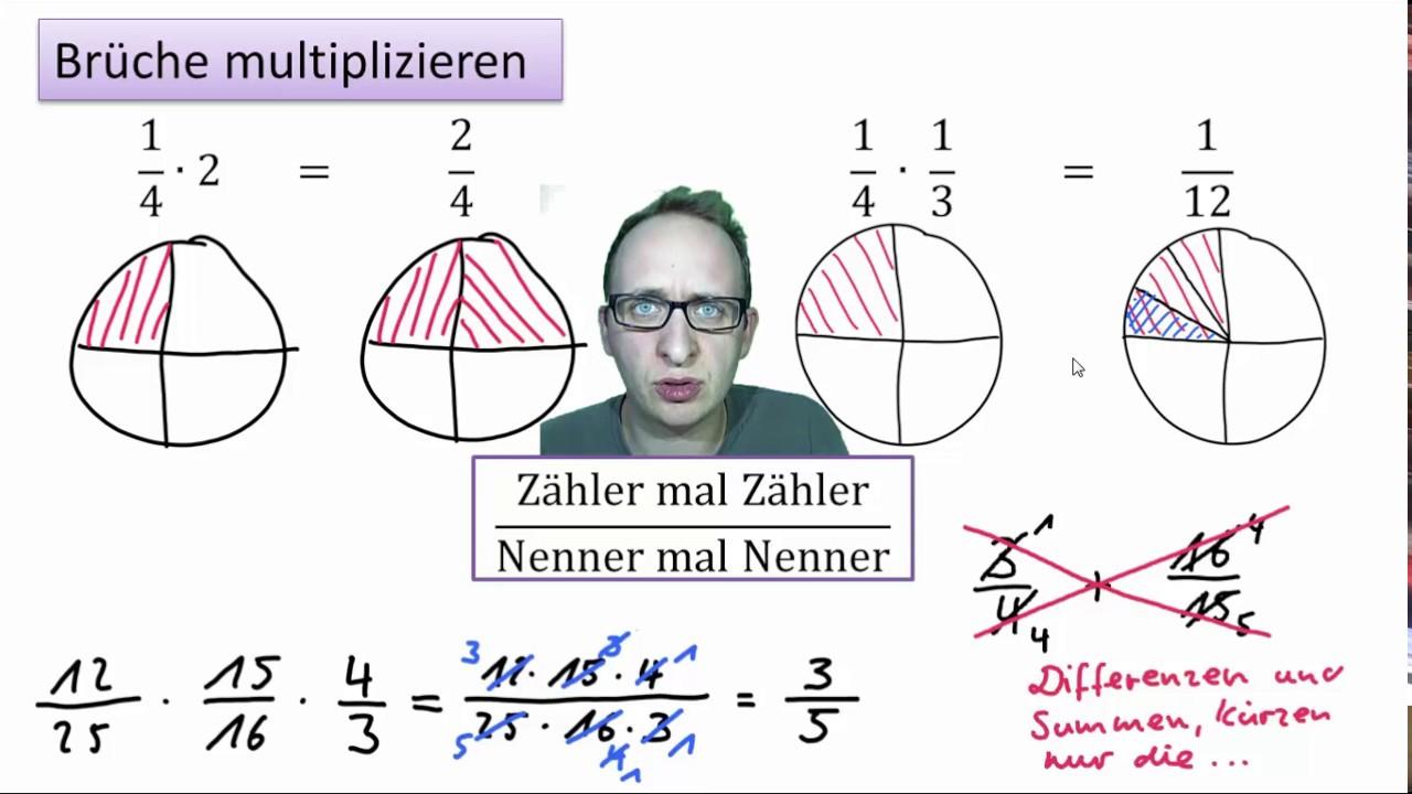 3.2 brüche multiplizieren - youtube