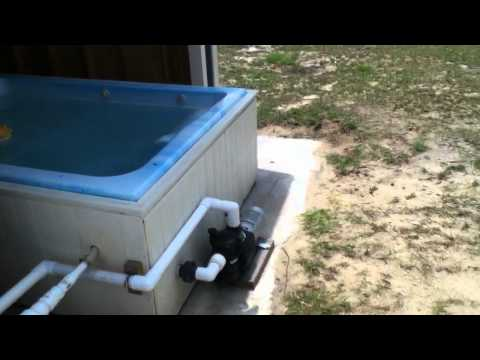 Solar heating pool/ jacuzzi solar powered