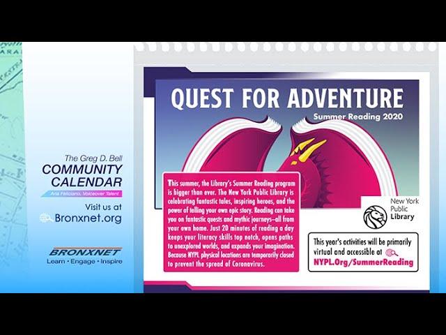 Community Calendar | Jun 25 - Jul 1, 2020
