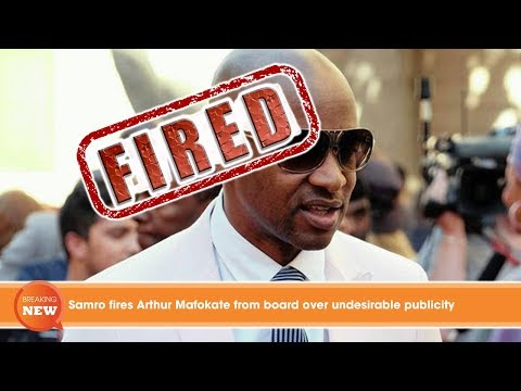 Hot new: Samro fires Arthur Mafokate from board over undesirable publicity