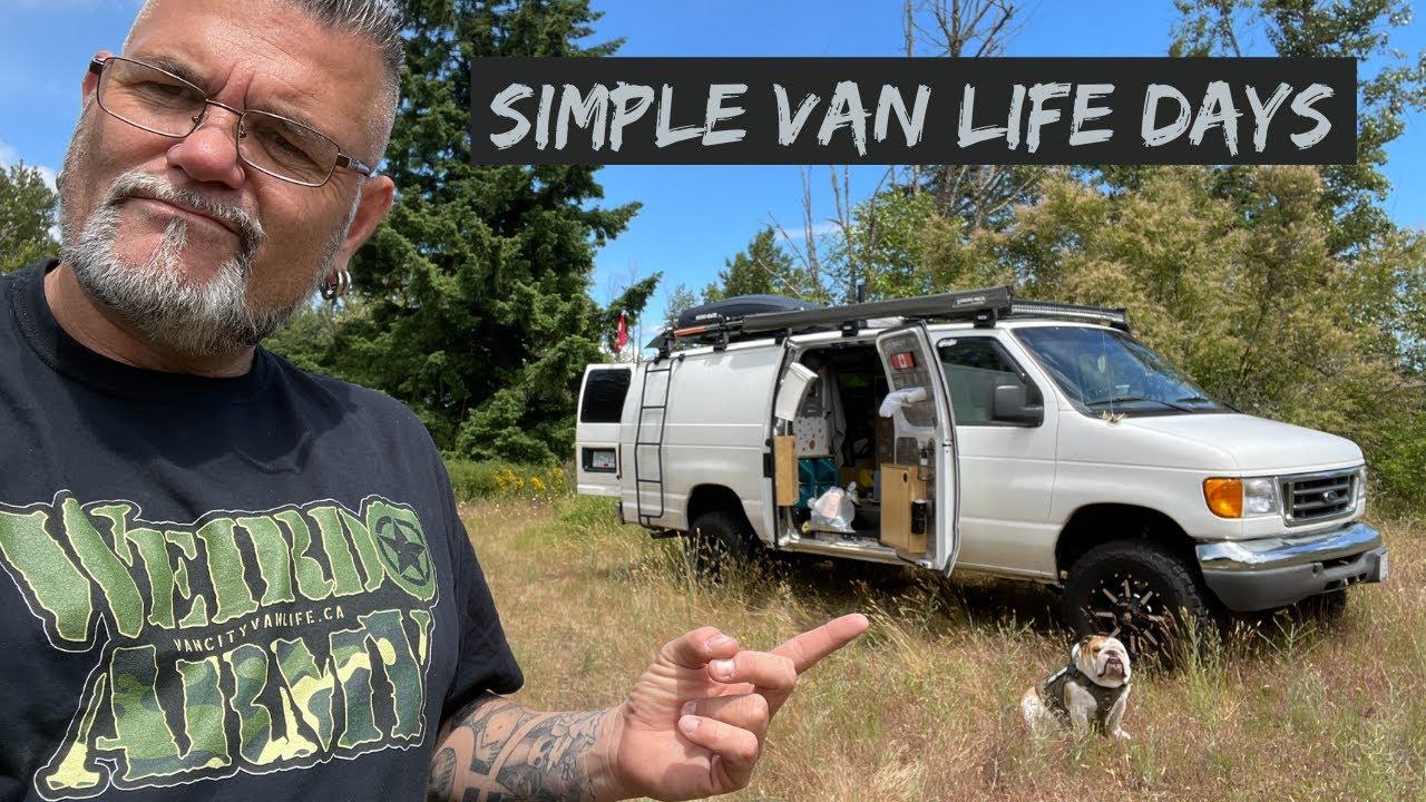 Camera Mic Problems, Reducing Van Weight, And Van Paint Project Plan | Simple Van Life Days