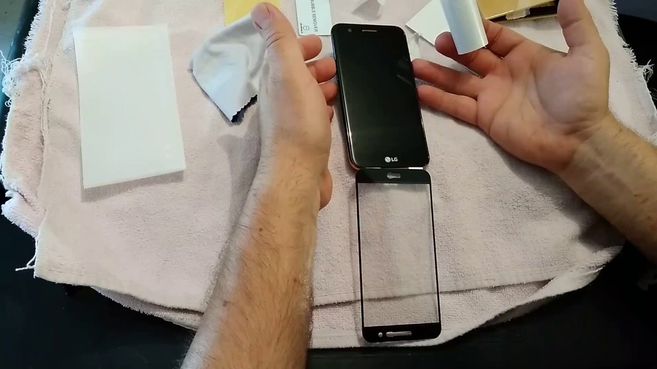 Mr  Shield Glass Screen Protector, overview, install, LG K20V