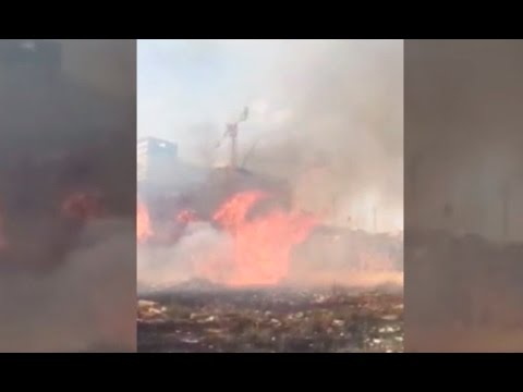 Firefighters battle blazes around Israel; Credit: Fire & rescue services
