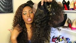Genesis Virgin Hair Brazilian Curly Show & Tell
