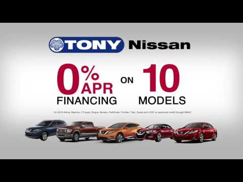 0% APR Financing on 10 Nissan Models