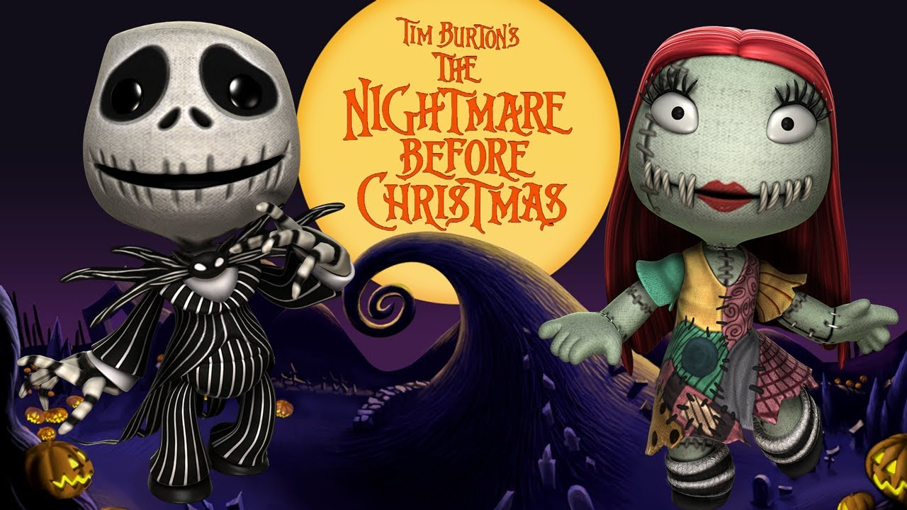 Little Big Planet 2 - The Nightmare Before Christmas - YouTube