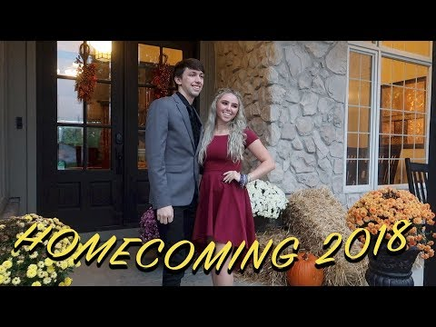 SENIOR YEAR HOMECOMING! grwm+ vlog