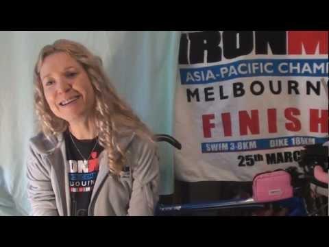 Stella Barber | Melbourne Ironman 2012