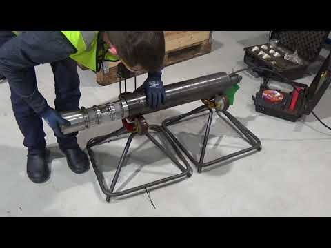 Setting Up The Wireline Running Tool  LOOK Camera