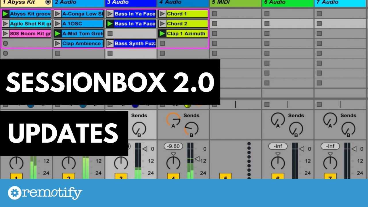 Video) Session Box 2 0 updates | Remotify