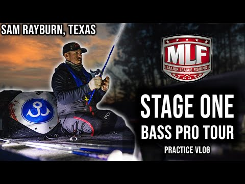 Major League Fishing Stage One Practice Vlog - Sam Rayburn, Texas