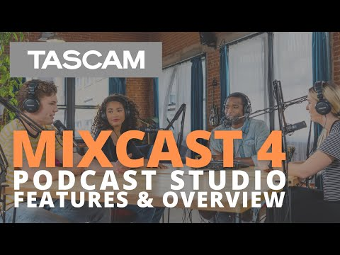 MIXCAST 4 Podcast Station - Features & Overview