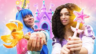 Игры одевалки для девочек - Волшебная Палочка для Принцессы Диснея! - Видео куклы Беби Бон