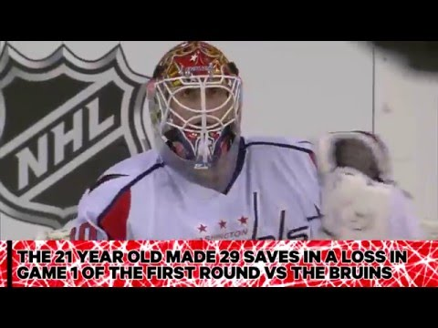 #TBT: Holtby`s first Stanley Cup Playoff win