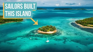 11 Years Living Off-Grid On A Self-Built Island (full tour)