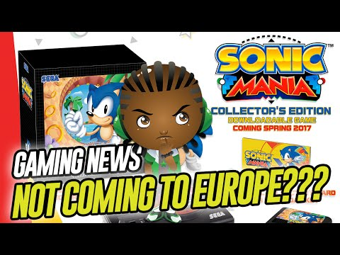 WTF Sonic Mania Collector's Edition Confirmed But Not Coming to Europe