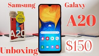 Samsung Galaxy A20 Unboxing and Hands-on