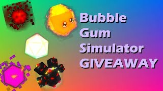 Roblox Bubble Gum Sim GIVEAWAY TY FOR 300 SUBS