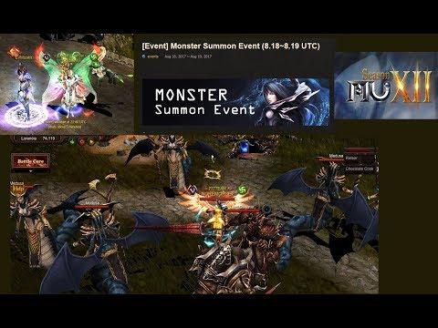 Monster Summon Event - www.muonline.com