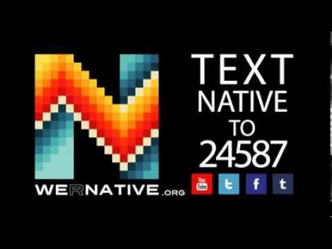 Text NATIVE to 24587