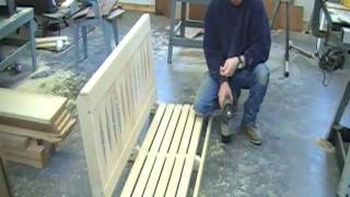 Building A Wooden Porch Swing  Pt. 2 Of 2