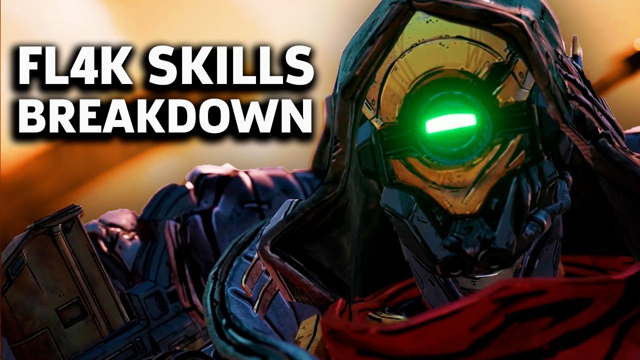 Borderlands 3 - Breaking Down Fl4K's Skill Tree