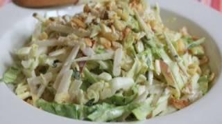 Spicy Apple Jicama Slaw : Foodwishes