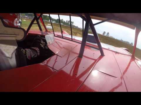 13 Year Old Super Late Model Driver Hot Lapping at Brownstown Speedway