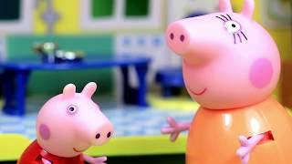 Свинка Пеппа на русском ВСЕ СЕРИИ ПОДРЯД без остановки #9 Лучшие мультфильмы для детей про Пеппу
