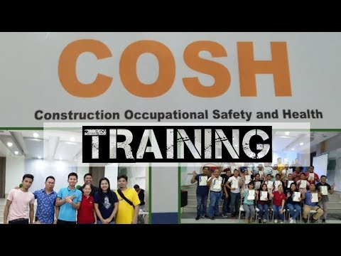 COSH Training | Becoming a Safety Officer 2 | Featuring J3 Trainers and Consultants