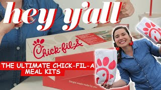 We Taste Tested Chick-fil-A Meal Kits! | Hey Y'all | Southern Living