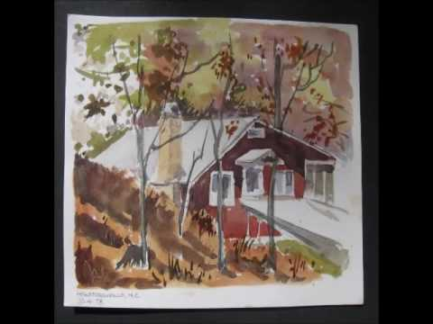 Keith Simpson day by day watercolor field sketches W. Gordon Graff